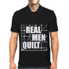 Real Men Quilt Mens Polo