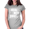 Real Men Quilt Womens Fitted T-Shirt