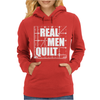 Real Men Quilt Womens Hoodie