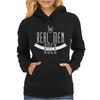 Real Men Rock Womens Hoodie