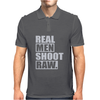 Real Men Shoot Raw Mens Polo