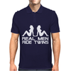 Real Men Twins Mens Polo