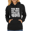 Real Men Use Three Pedals Womens Hoodie