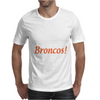 Real Women Watch Denver Broncos NFL Funny Fan Pride Men Black T-Shirt W1 Mens T-Shirt