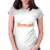 Real Women Watch Denver Broncos NFL Funny Fan Pride Men Black T-Shirt W1 Womens Fitted T-Shirt