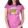 Realicorn Womens Fitted T-Shirt
