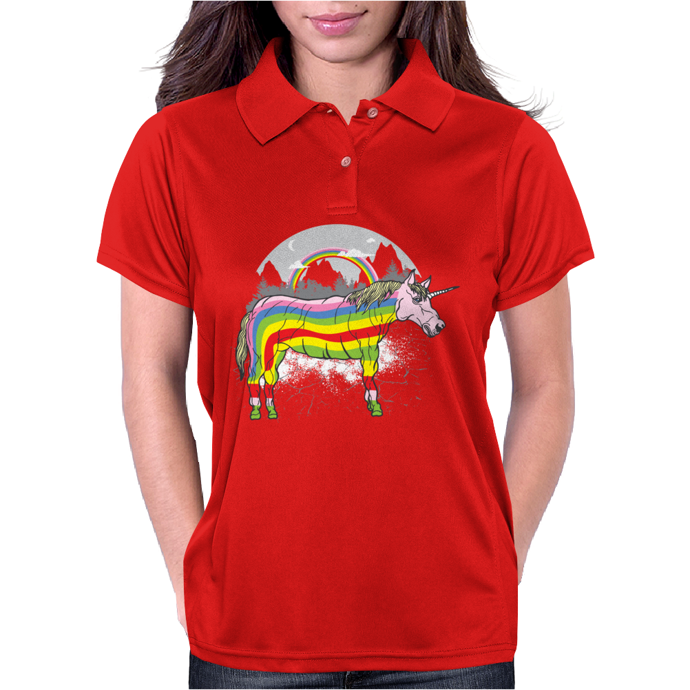Realicorn Womens Polo