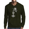 Reap what you sow Flower Hummingbird Heather Mens Hoodie