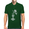 Reap what you sow Flower Hummingbird Heather Mens Polo