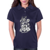 Rebel flowers Womens Polo