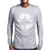 Recycle Symbol Mens Long Sleeve T-Shirt