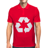 Recycle Symbol Mens Polo
