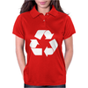 Recycle Symbol Womens Polo