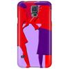 Red and Purple Ladies Phone Case