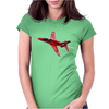Red Arrows Hawk T1 Womens Fitted T-Shirt