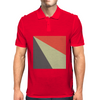 Red Beige Grey Mens Polo