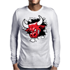 Red Bull Through The Wall Mens Long Sleeve T-Shirt