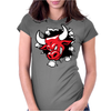Red Bull Through The Wall Womens Fitted T-Shirt