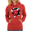 Red Bull Through The Wall Womens Hoodie