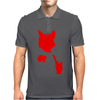 Red Cat Blot Test Mens Polo