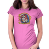Red Catrina (Day of the Dead) Womens Fitted T-Shirt