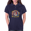 Red Catrina (Day of the Dead) Womens Polo