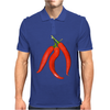 red chili peppers Mens Polo