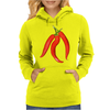 red chili peppers Womens Hoodie