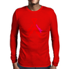 Red Crest Mens Long Sleeve T-Shirt