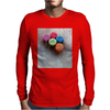 Red Defqons Dance Mens Long Sleeve T-Shirt