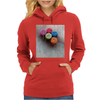Red Defqons Dance Womens Hoodie