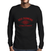 Red Diamond Dynamite Mens Long Sleeve T-Shirt