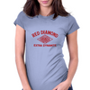 Red Diamond Dynamite Womens Fitted T-Shirt