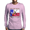 Red Dirt Music- Written With Blood Mens Long Sleeve T-Shirt