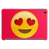 Red Emoji Heart Face Case Tablet (horizontal)