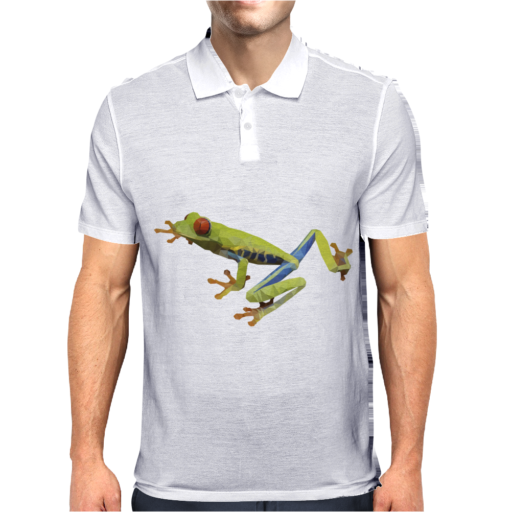red eyes frog Mens Polo