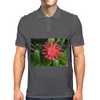 Red Flower Mens Polo