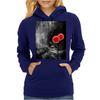 Red Flowers Womens Hoodie