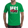 Red Ford Capri MK1 Classic Car Mens T-Shirt