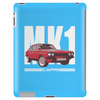 Red Ford Capri MK1 Classic Car Tablet