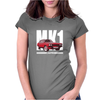 Red Ford Capri MK1 Classic Car Womens Fitted T-Shirt