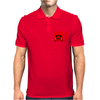 Red Ford Escort MK1 Classic Car Mens Polo
