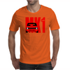 Red Ford Escort MK1 Classic Car Mens T-Shirt