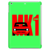 Red Ford Escort MK1 Classic Car Tablet