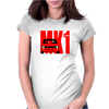 Red Ford Escort MK1 Classic Car Womens Fitted T-Shirt