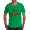 Red Gas Mask Mens T-Shirt