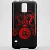 Red Gas Mask Phone Case