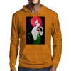 RED HEAD  ART DECO Mens Hoodie