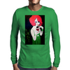 RED HEAD  ART DECO Mens Long Sleeve T-Shirt