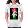 RED HEAD  ART DECO Womens Polo